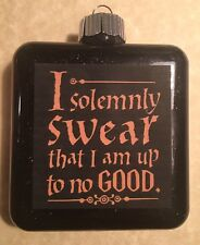 HARRY POTTER I SOLEMNLY SWEAR THAT I AM UP TO NO GOOD Marauders Map ORNAMENT