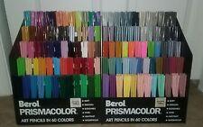 BEROL PRISMACOLOR ART PENCILS - Variety of Colors Pick Your Own 7 Minimum