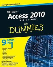 Access 2010 All-in-One For Dummies by Barrows, Alison, Young, Margaret Levine,