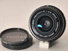 nice SMC Pentax M 35mm f2.8 w/a lens for all K mount film & digital, adaptable