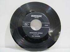 "45 RECORD 7"" - BILLY GRAMMER - BONAPARTE'S RETREAT"