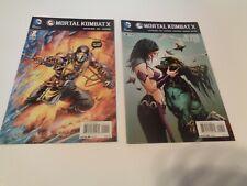DC Comics Mortal Kombat X Issues #1, and #9