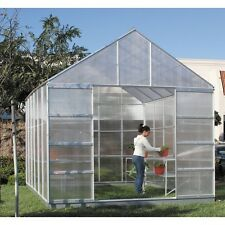 NEW  10 ft X 12 ft Greenhouse 4 Vents Walk-In Large Nursery Sliding Doors