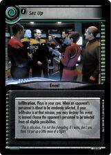 Star Trek CCG 2E Call To Arms Set Up 3R54