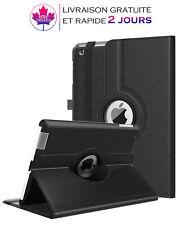 Coque,étui pour iPad 2/3/4 Housse en cuir avec support 360° veille automatique