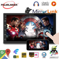 7''2 Din GPS Android Car Radio Airplay+Camera Wifi BT FM iOS Mirror Link Touch
