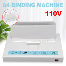 A4 Thermal Binding Machine Contract Document Invoice Electronic Binding 110v Usa