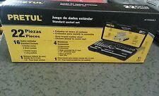 JD-1/4X22SAE-P Standard socket set Pretul