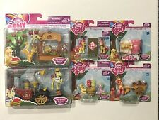 MY LITTLE PONY FRIENDSHIP IS MAGIC, SWEET APPLE ACRES FIGURE SETS - Free Postage