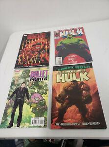 Lot Of 24 The Incredible Hulk and Hulk Comics and 2 Graphic Novels