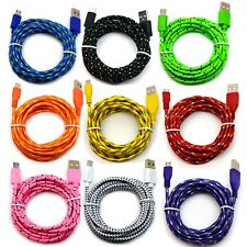 6' Ft Micro USB 2.0 cable For Android Cell Phone Charging Sync Charger Cord lot