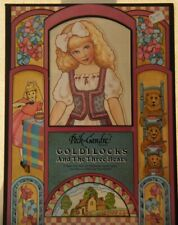 SET / 2 GOLDILOCKS and LITTLE RED RIDING HOOD Doll Series Paper Dolls - UNCUT