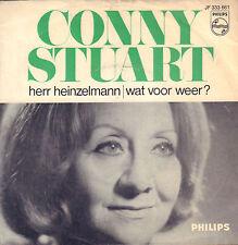 """CONNY STUART – Herr Heinzelmann (1967 VINYL SINGLE 7"""" / A.M.G. SCHMIDT)"""