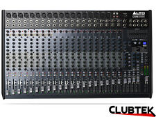 Alto 2404 Mixer 24 Channel 4 Bus DSP Effects USB Professional Live Studio UK