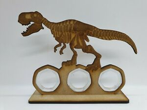 Dinosaur 50p coin display stand MDF No coins, 3 free capsules