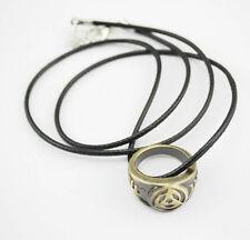 Naruto Kakashi Ring Necklace Charm Necklace Pendant Cosplay Gift
