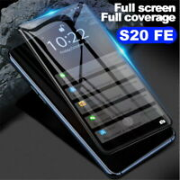 Tempered Glass Screen Protector Full Cover For Samsung Galaxy S20 FE 5G 2020