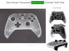New Xbox One S Controller Front Shell transparent/clear/see-through mod custom