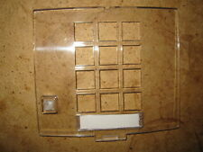 QTY 10  Clear 2500 Telephone Face Plate w/message waiting   NOS