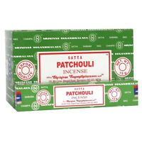 SATYA PATCHOULI INCENSE STICKS WITH VARIOUS OPTIONS - 400194