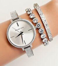 Michael Kors Uhr Damenuhr MK3783 Jaryn  in Farbe:Silber/Kristall NEU