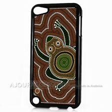 ( For iPod Touch 6 ) Back Case Cover AJ10357 Aboriginal Frog