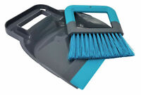 Mini Plastic Handy Dustpan And Sweeper Brush Set Mini Cleaning Office Home