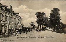 CPA   Dannemoine - Établissements Boisseau et Route de Paris   (357727)