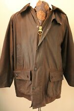 BARBOUR BEDALE C44  BROWN WAX MENS OUTDOOR JACKET **VERY SHORTARM**