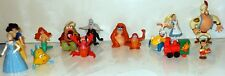 Disney Fast Food & Other Toy Lot Little Mermaid Aladdin & More