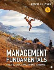 Management Fundamentals : Concepts, Applications, and Skill Development by...