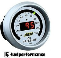 AEM Digital Oil Pressure Display Gauge  PN: 30-4407 (0 TO 150PSI)  #30-4407