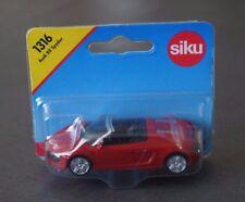 SIKU 1316 - Audi R8 Spyder rouge - sous blister - échelle 1/55