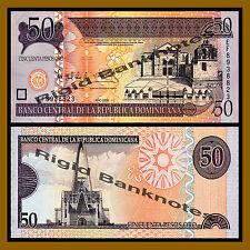 Dominican Republic 50 Pesos Oro, 2008 P-176b Unc