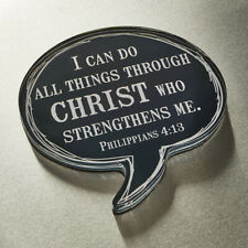"""""""I Can Do All Things Through Christ Who Strengthens Me, Phil. 4:13"""" Magnet"""