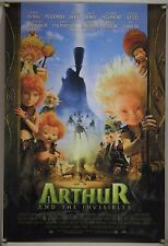 ARTHUR AND THE INVISIBLES ROLLED ORIG 1SH MOVIE POSTER LUC BESSON FANTASY (2006)