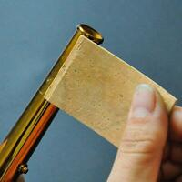 Natural Sax Saxophone Neck Cork Sheet 2mm Pack of 10 for Soprano Tenor Alto Sax