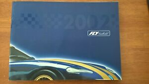 Scalextric FLY 2002 Slot Car Catalogue Mint Unused Ex Shop Stock