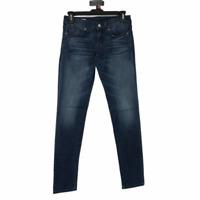 Gap Womens Blue Dark Wash Low Rise Always Skinny Denim Jeans Size 00 R