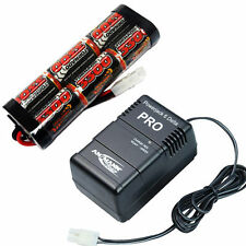 Overlander 3300mAh 7.2 V NiMH Battery Pack & PowerJack Veloce Caricabatterie RC auto Tamiya