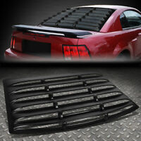 FOR 94-04 FORD MUSTANG COUPE REAR WINDOW LOUVER WINDSHIELD SUN SHADE COVER VENT