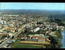 MARMANDE (47) RESIDENCES & VILLAS en vue aérienne en 1977