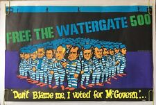 The Watergate 500 Richard Nixon Comedy Spoof Political Vintage Poster Head Shop