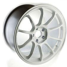 17X9 5X114.3 +25 WHITE Rota SS10 R Rim Mazda 3 6 Rx7 Rx8 Tsx V6 Mr2 Wrx Sti Rsx
