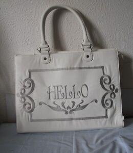 LOLLIPOPS  - Sac  Shopping Inlovely  blanc 45 X 33 X 15 cm neuf
