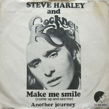 "STEVE HARLEY AND COCKNEY REBEL - MAKE ME SMILE   - VINYL 7"" - 45 RPM"