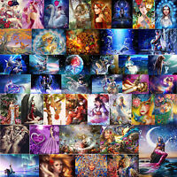 5D DIY Full Drill Diamond Painting Beauty Fairy Cross Stitch Kit Home Decor Gift