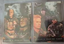 Trading Cards - Stargate SG1 - Season 5 - Cards P1 and P2- free shipping