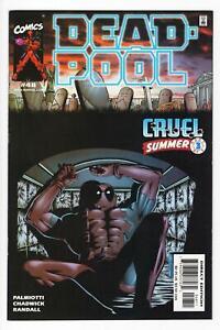 DEADPOOL Vol. 2, #48 Jimmy Palmiotti PAUL CHADWICK 2001 VF/NM high grade