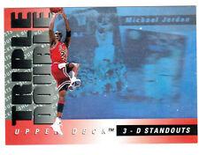 1993-94 UPPER DECK #TD2 MICHAEL JORDAN TRIPLE DOUBLE